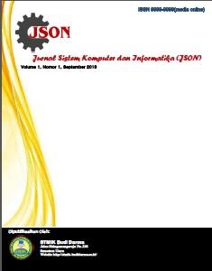 Jurnal Sistem Komputer dan Informatika (JSON)