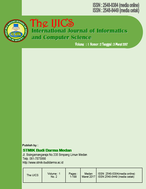 The International Journal of Informatics and Computer Science